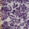 Purple Flowers Feedsack