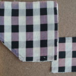 Purple & Black Check Pieces