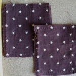 Stars on Brown Pieces