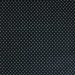 Black Cotton Dotted Swiss