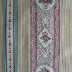 Roses & Stripes Scheurer Sample