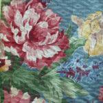 Floral Drapery Closeup